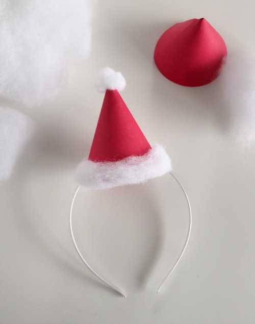 Noel Baba Sapkasi Yapimi 5