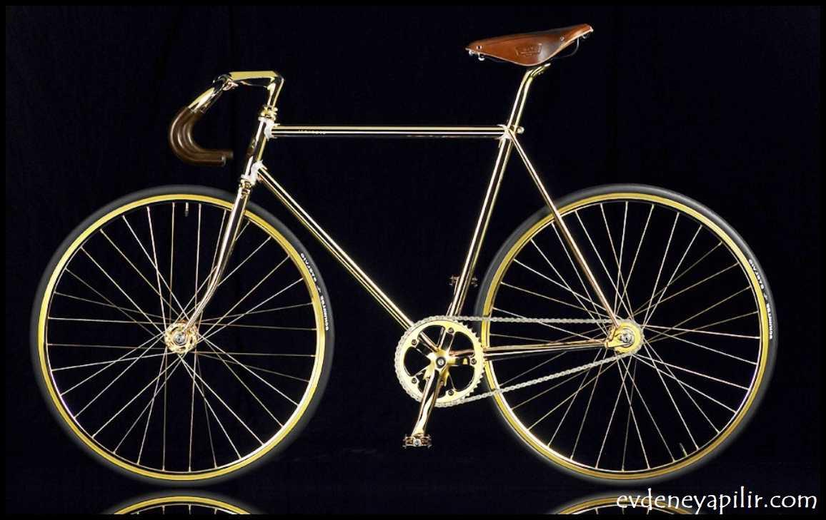Auramania Altın Bisiklet Kristal Sürümü