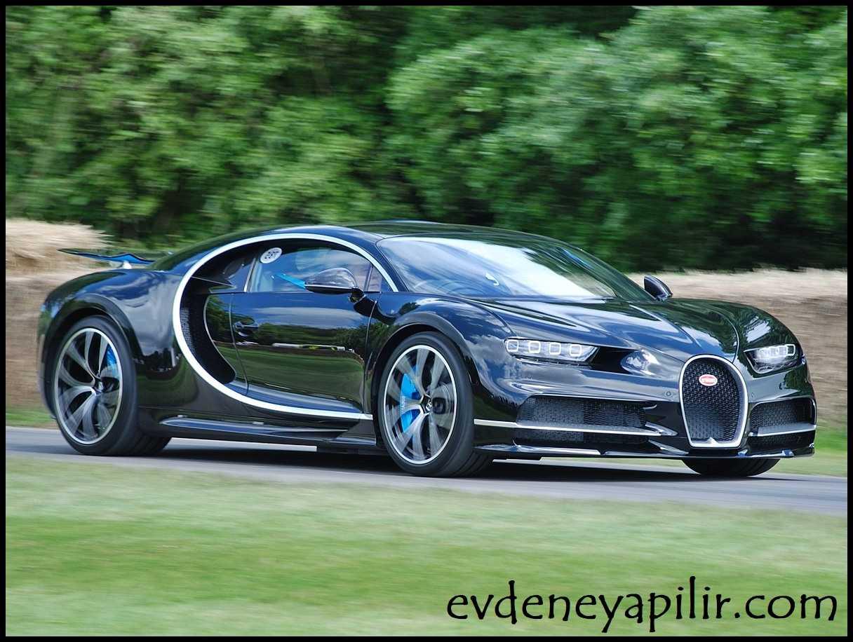 Bugatti Chiron Dünyanın En Hızlı Arabaları