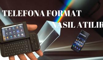 telefona format nasıl atılır