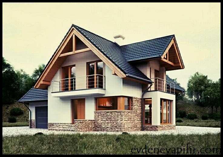 Çatı Katı Evler Dış Görünüm