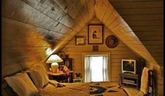 Çatı Katı Yatak Odası Dekorasyonu