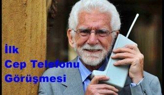 İlk Cep Telefonu Görüşmesi