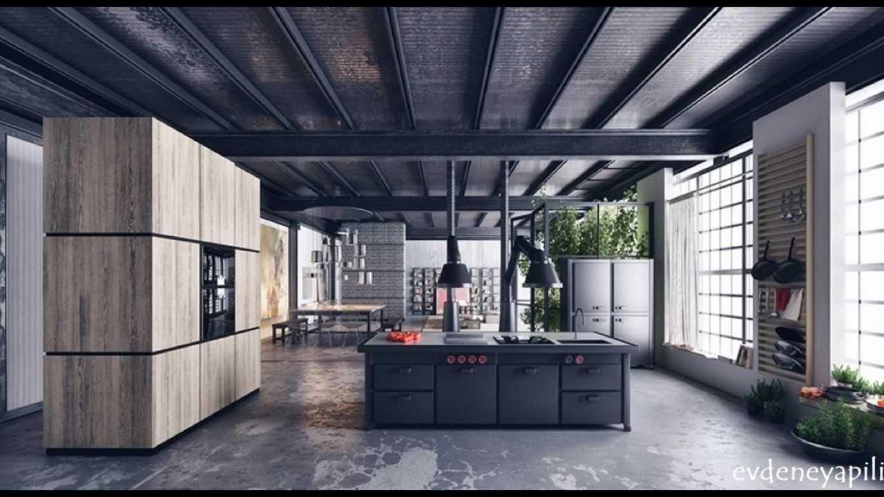 beyaz siyah mutfak