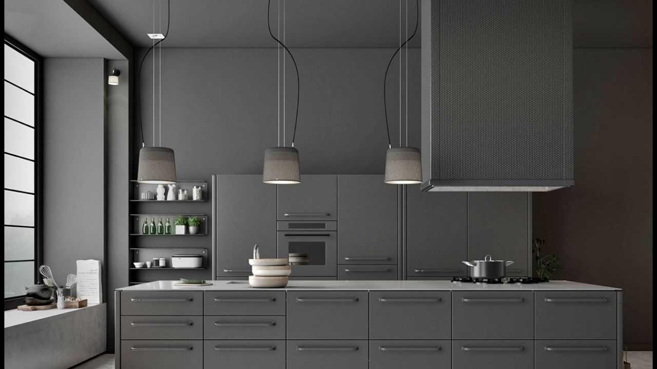 siyah mutfak dolabı