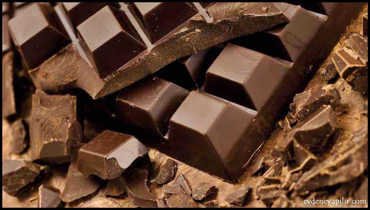 Bitter Çikolata - Tansiyon Düşüren Yiyecekler