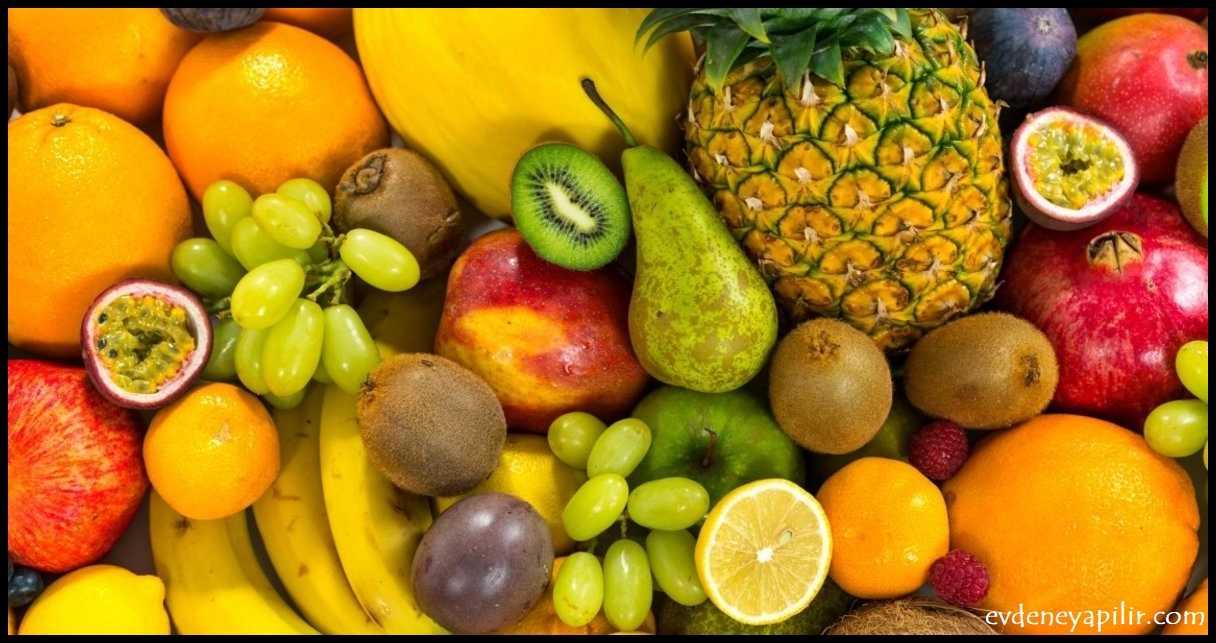 Meyveler - Tansiyon Düşüren Yiyecekler