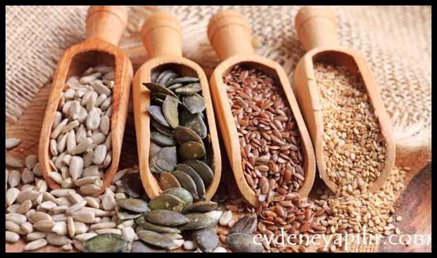 Tohumlar - Tansiyon Düşüren Yiyecekler