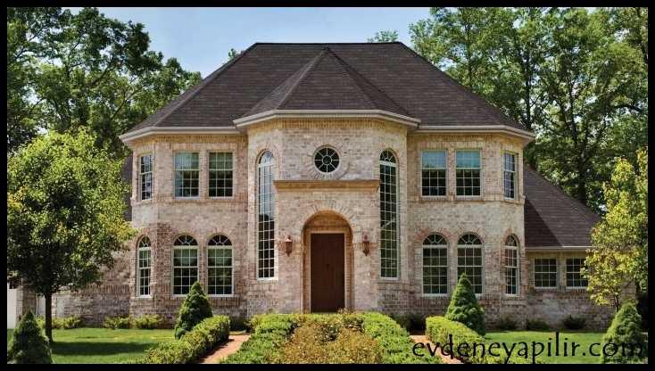 Tudor tarzı ev