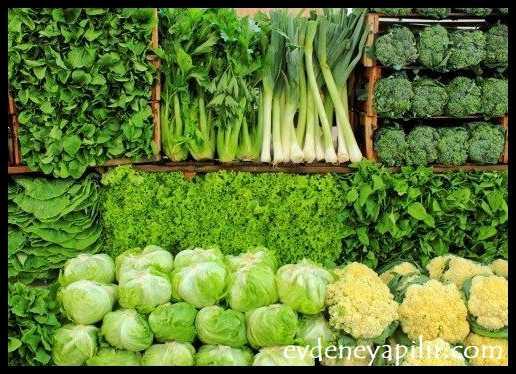 Yapraklı Yeşillikler - Tansiyonu Düşüren Yiyecekler