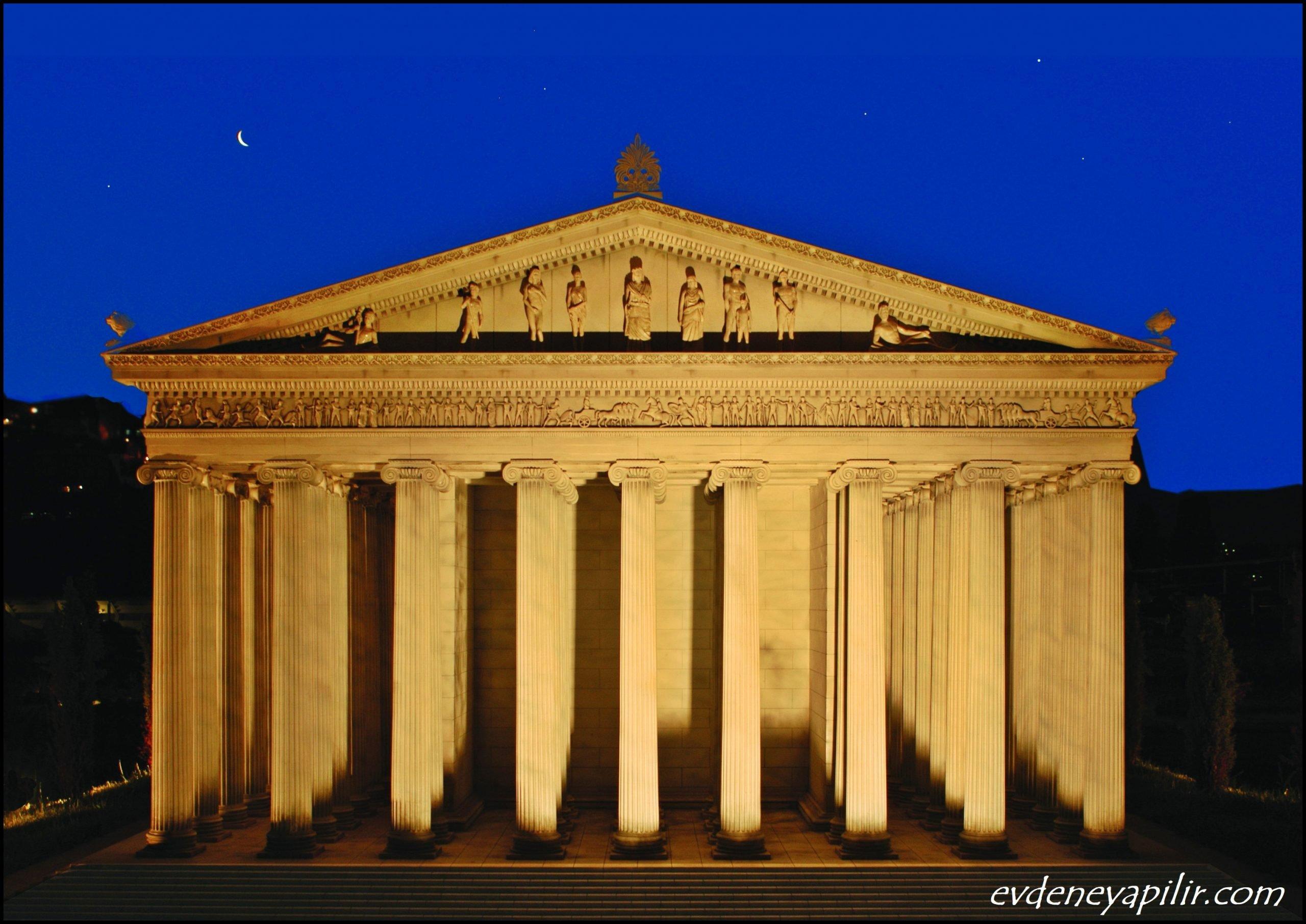 Artemis Tapınağı - Dünyanın 7 Harikası