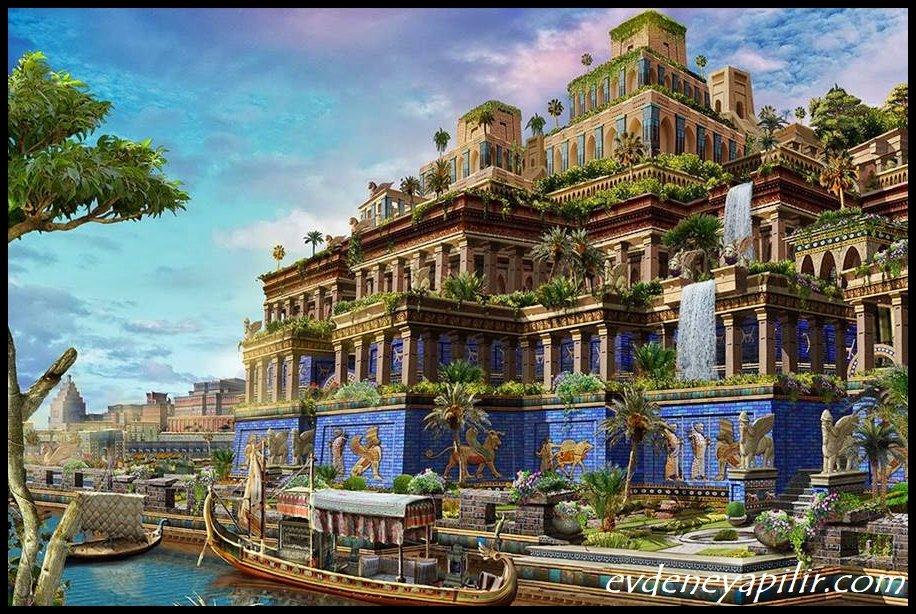 Babil'in Asma Bahçeleri - Dünyanın 7 Harikası