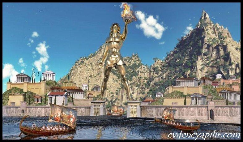 Rodos Heykeli - Dünyanın 7 Harikası
