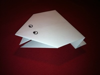 origami kurbaga